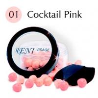 № 01 Румяна в шариках. Розовый коктейль