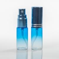 Mini 5 мл. голубой спрей металл