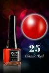 № 25 Classic Red - Классический Красный