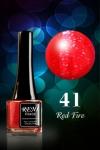 № 41 Red Fire - Красный Огонь